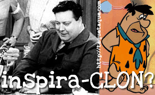 "El parecido entre Fred Flintstone (""The Flintstones"") y Jackie Gleason (""The Honeymooners"") es más que evidente"