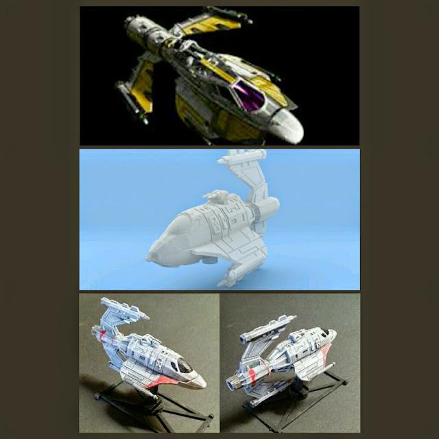 GAT-12 Skypray Blastboat de Mel Miniatures