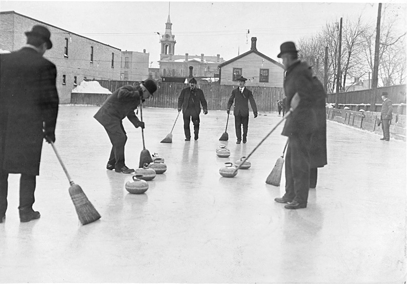 Old school curling
