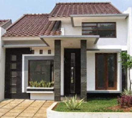 contoh gambar rumah sederhana gallery taman minimalis