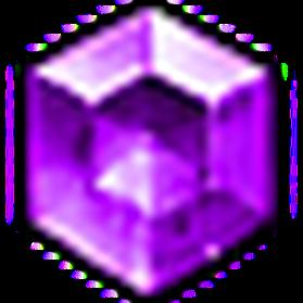 完美星芒紫寶石