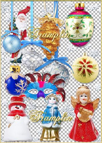 Новогодние ёлочные  игрушки – New years toys on fir tree - 2