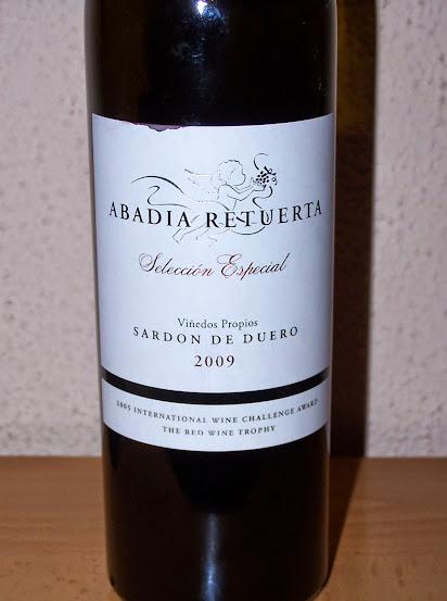 Abadia de Retuerta Selección Especial 2009, Vino de la Tierra de Castilla