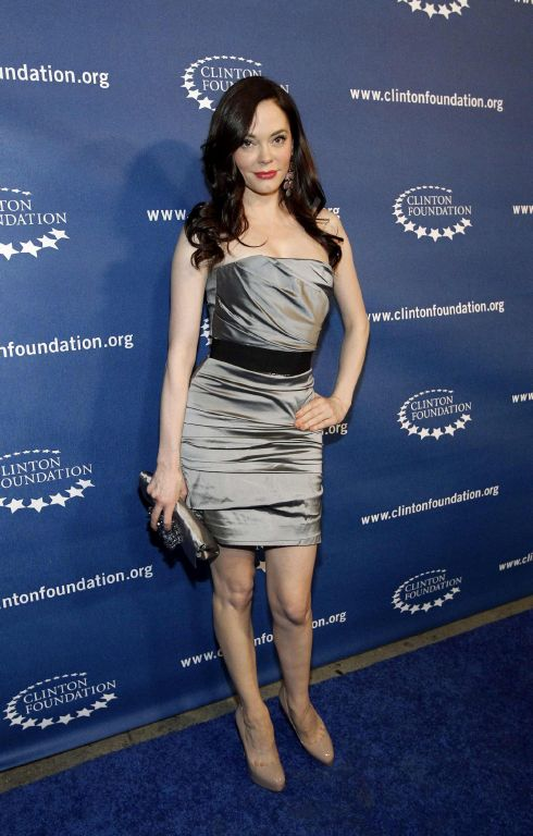 Rose Mcgowan Latest Pics At Millenium Network Event