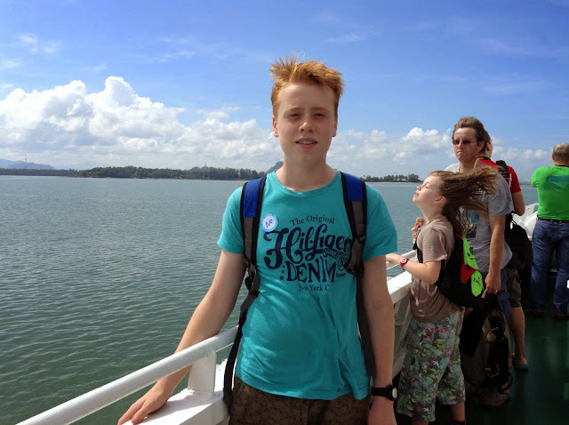 Matt in Koh Samui. From What Can a Teen Learn from Traveling?
