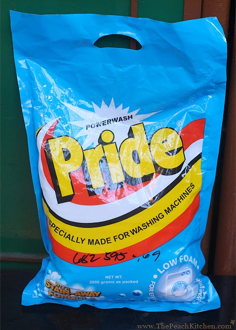 Pride Perfect Detergent | www.thepeachkitchen.com
