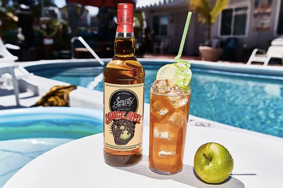 Sailor Jerry Savage Apple is the Rum that Lives Outside the Lines | Man of  Many  Sailor Jerry Cocktails