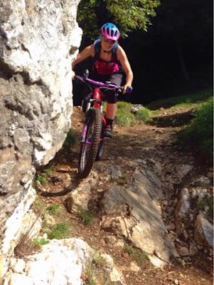 Trail nach Navene