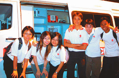 ServicefromHeart travelxp Singapore Central Fire Station NTU Red Cross Orchard