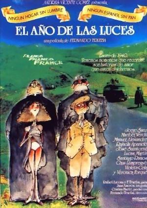 """Cartel de """"El año de las luces"""", película dirigida por Fernando Trueba"""