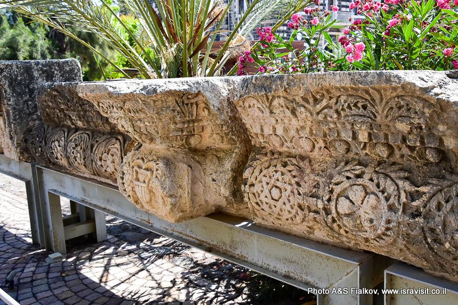 Капернаум. Археологические раскопки. Экскурсия гида в Галилее Светланы Фиалковой.