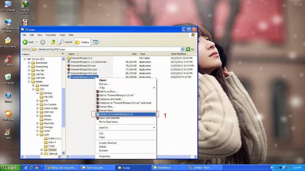 Hướng dẫn cài itunes trên Windows XP - 64bit
