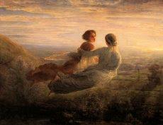El vuelo del alma, por Louis Janmot