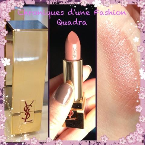 Rouge pur couture golden lustre yves saint laurent for Miroir ysl