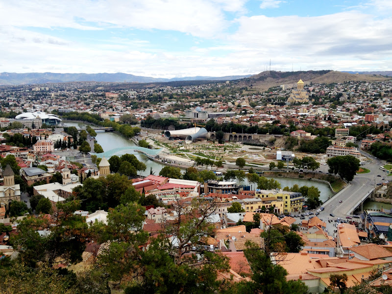 Narikala fortress, one of the things to do in Tbilisi