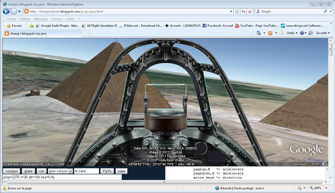 Fly Earth Chung Free Google Earth Flight Car