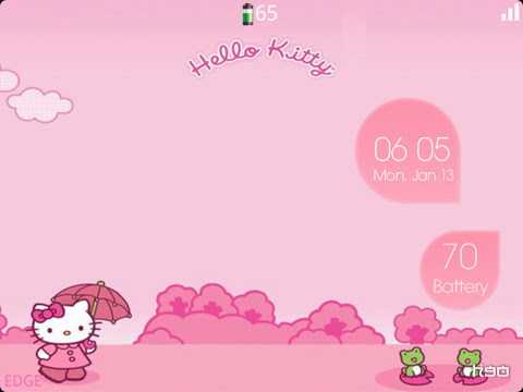 BubbleTheme - Special edition (9700/9780 OS6) Preview 1