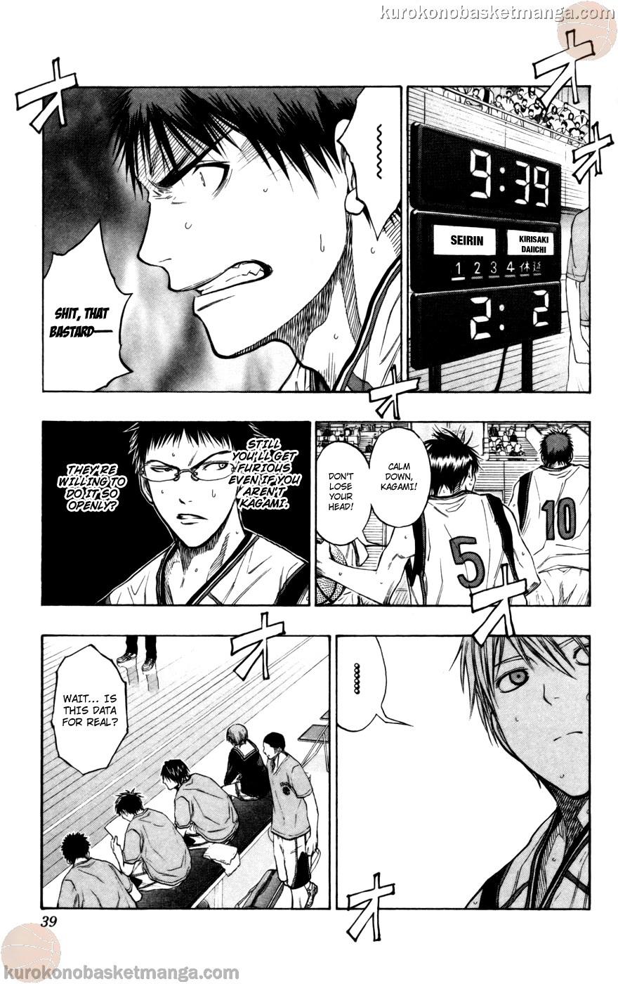 Kuroko no Basket Manga Chapter 101 - Image 12