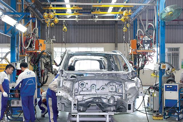 Ứng dụng của xi mạ trong chế tạo và sản xuất ô tô
