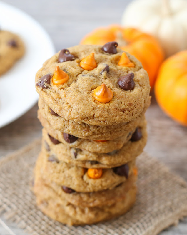 photo of a tall stack of chewy cookies