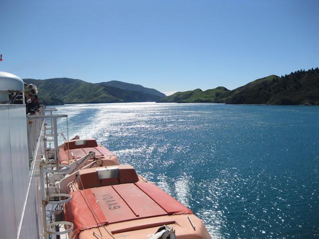 Views from the Interislander ferry, near Picton