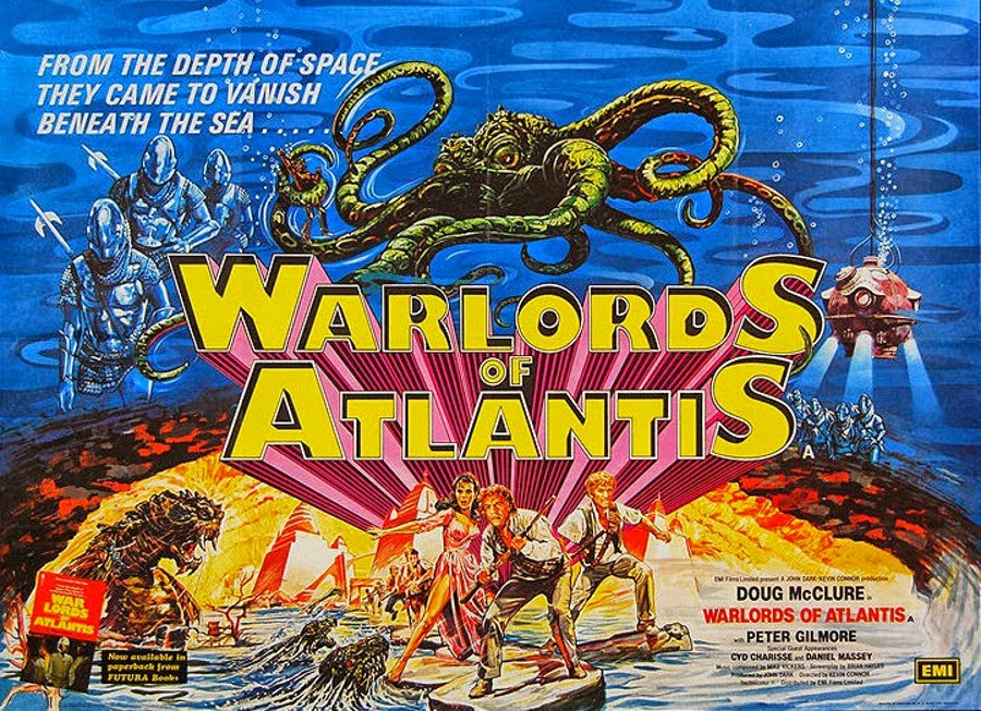 Warlord of Atlantis movie poster