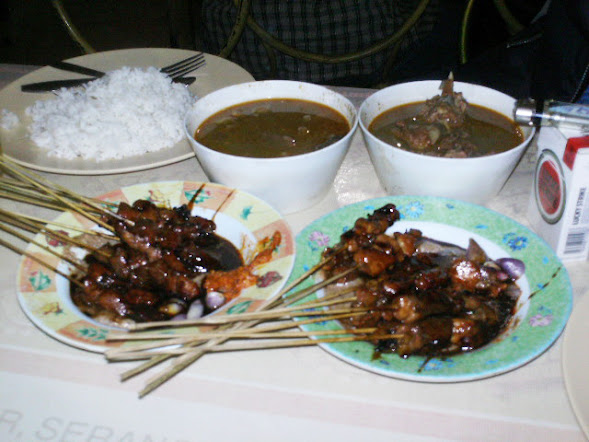 A serve of sate Barongan