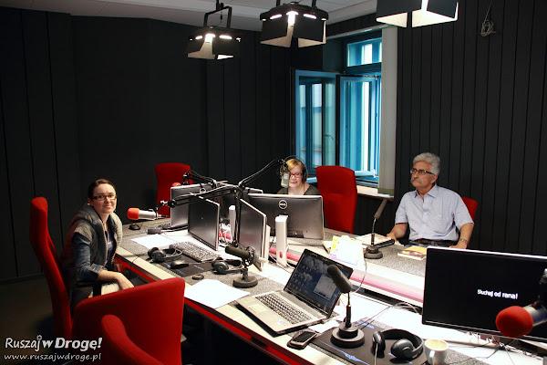 Ruszaj w Drogę i Krzysztof Kruszyński w Radio Gdańsk