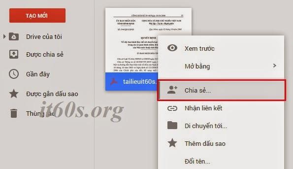 Cách nhúng tài liệu vào trang Web thông qua Google Drive 8