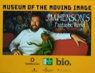 Cartel de la exposición sobre Jim Henson en Nueva York