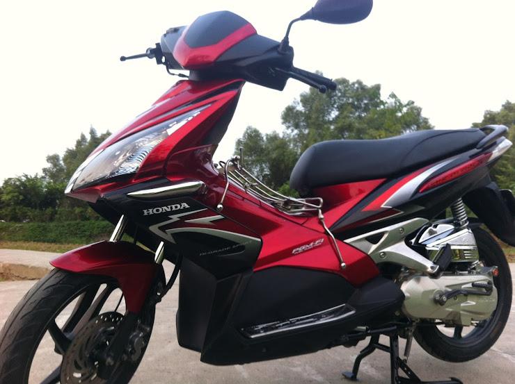 Air Blade thái fi đỏ đen 2009
