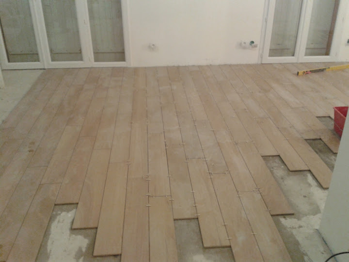 Carrelage 90x15 for Pose carrelage imitation parquet