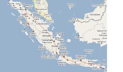 автостопом по яве, суматре и Бали