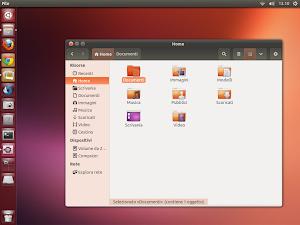 Ambiance Crunchy su Ubuntu 13.04 Raring