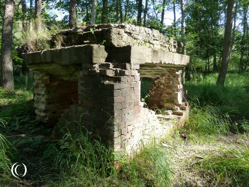 demolished guard bunker of KZ-Arbeitslager Karlshagen I