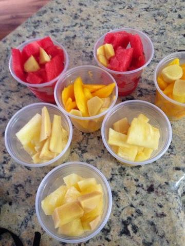 Congelando Frutas para Sucos
