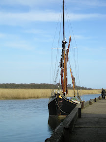 Moorings at Snape Maltings
