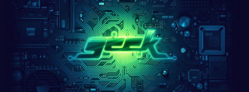 Geek facebook cover