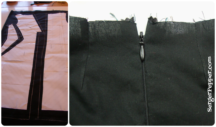 Serger-Pepper-Brasilia-Dress-testing-armholes-neckline-cut