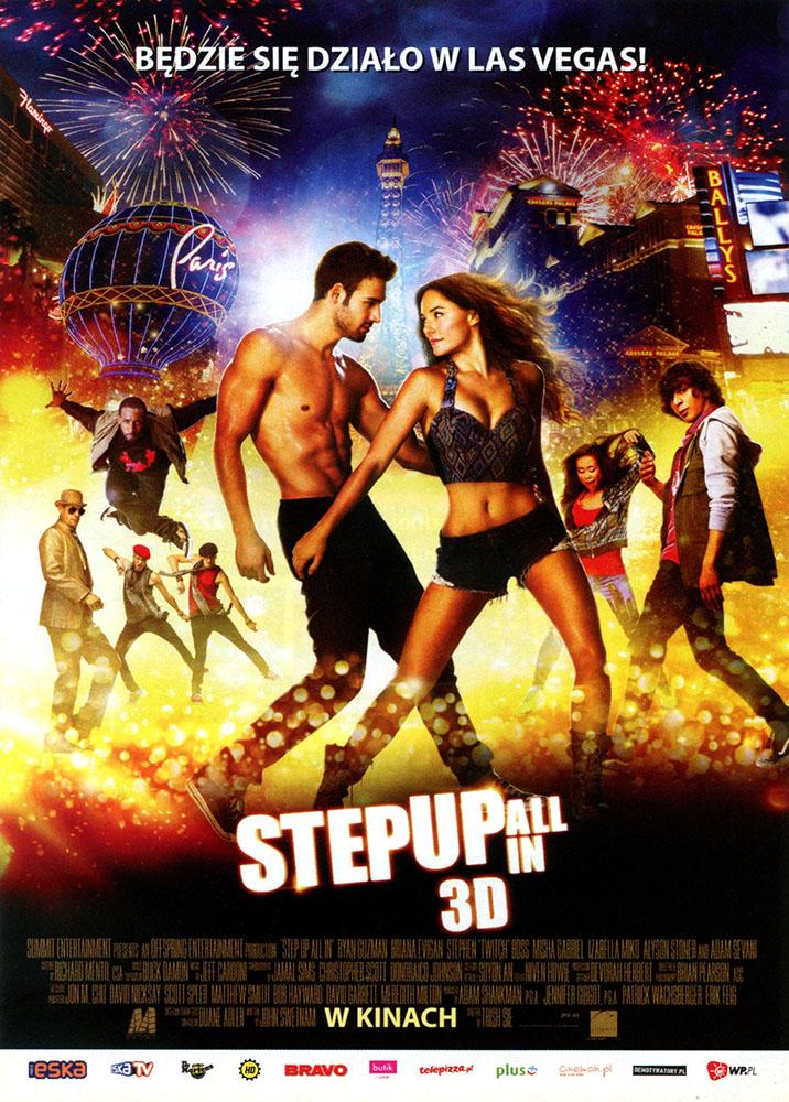 Ulotka filmu 'Step Up: All In (przód)'
