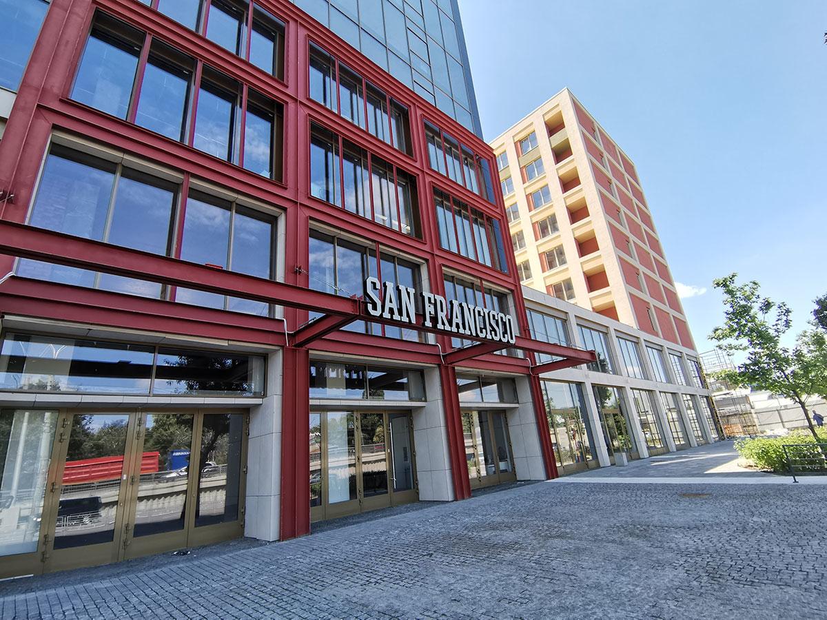 ЖК San Francisco Creative House все ж таки більш схожий на київські Нивки, аніж на американський Сан-Франциско. Фото: dimvsim.com.ua