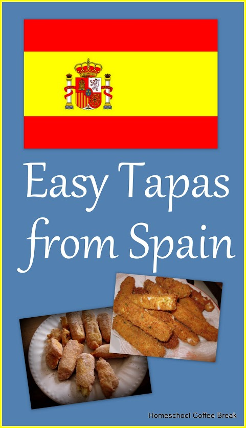 A Taste of Europe - Easy Tapas from Spain on Homeschool Coffee Break @ kympossibleblog.blogspot.com