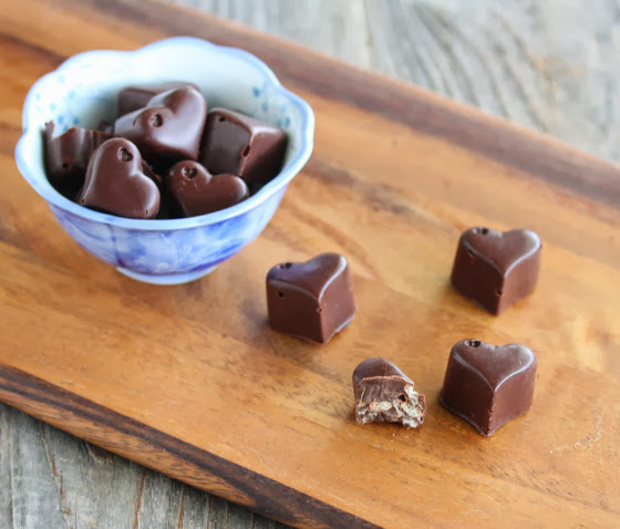 photo of a bowl of Homemade Chocolate Crunch Bars