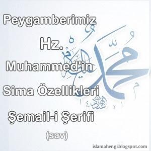Hz. Muhammed (sav)'in Şemail-i Şerifi - Sima Özellikleri
