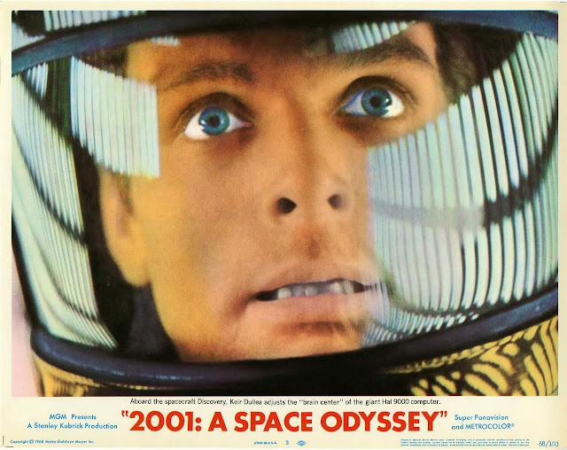 2001 A Space Odessey movie poster