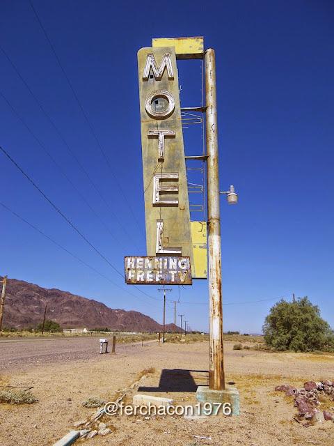 Route 66, Los Angeles - Amboy