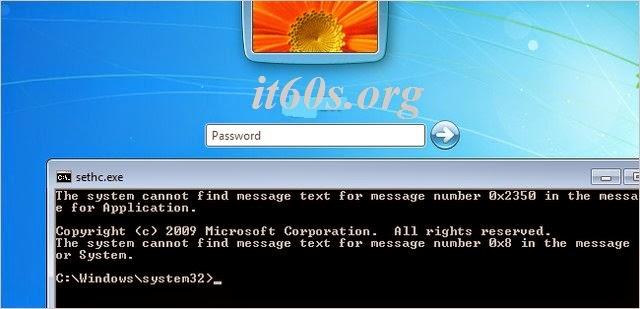 Cách reset mật khẩu Windows đơn giản nhất 3