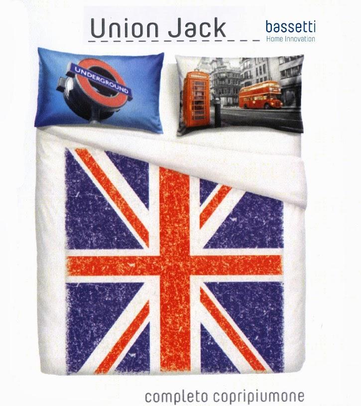 Copripiumino Bassetti Natura.Completo Copripiumino Matrimoniale Flag Union Jack London Natura
