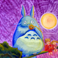 Totoro moonlight