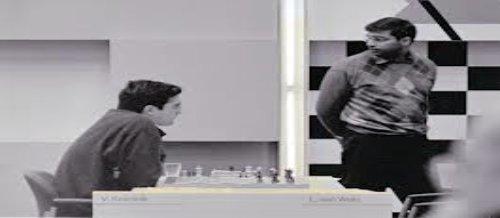 El actual campeón mundial V.Anand contra V.Krammik